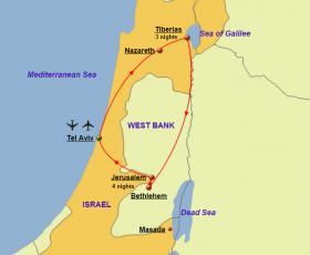 Holy Land - Map