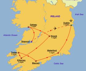 Ireland - Map