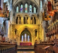 St Patricks Cathedral interior, Dublin