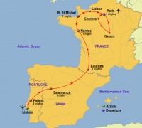 Map Of Portugal Spain France.Index Of Wp Content Gallery Portugal Spain And France Dynamic