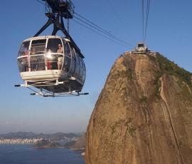 Cable Car to The Sugar Loaf Mountain, Rio de Janeiro, Brazil