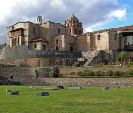 Santo Domingo Convent on the ruins of Coricancha, Cuzco, Peru