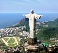 Statue of The Christ of Redeemer in Cordova, Rio de Janeiro, Brazil